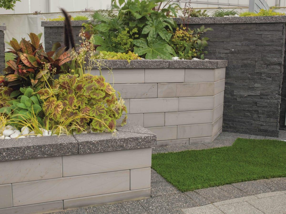 Garden Walling Bricks Blocks Stone Walls Wall Blocks Marshalls