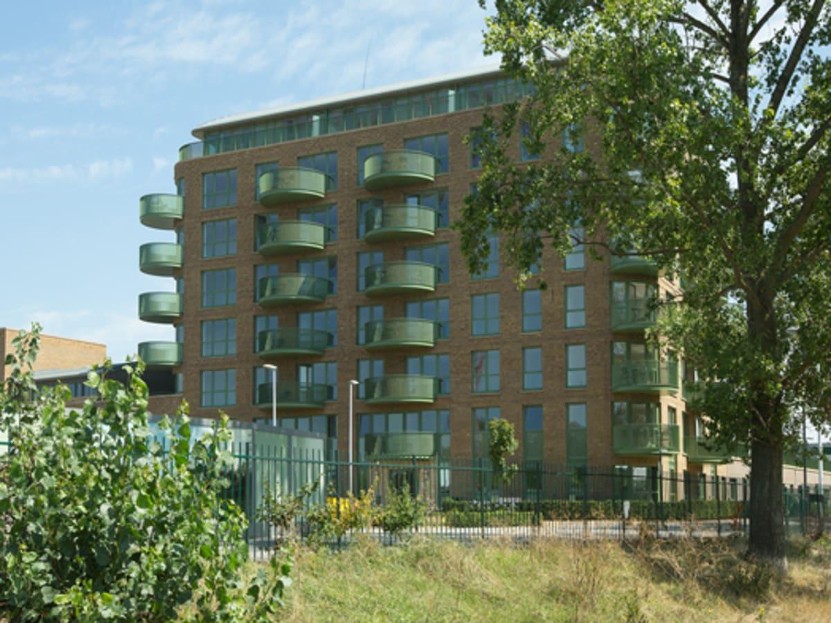 Apartment village in Greenwich