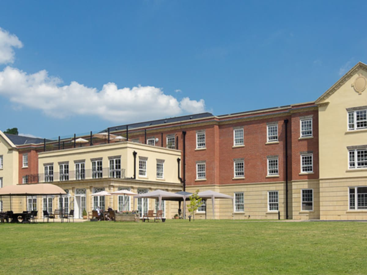 78 bed care home with cast stone detailing