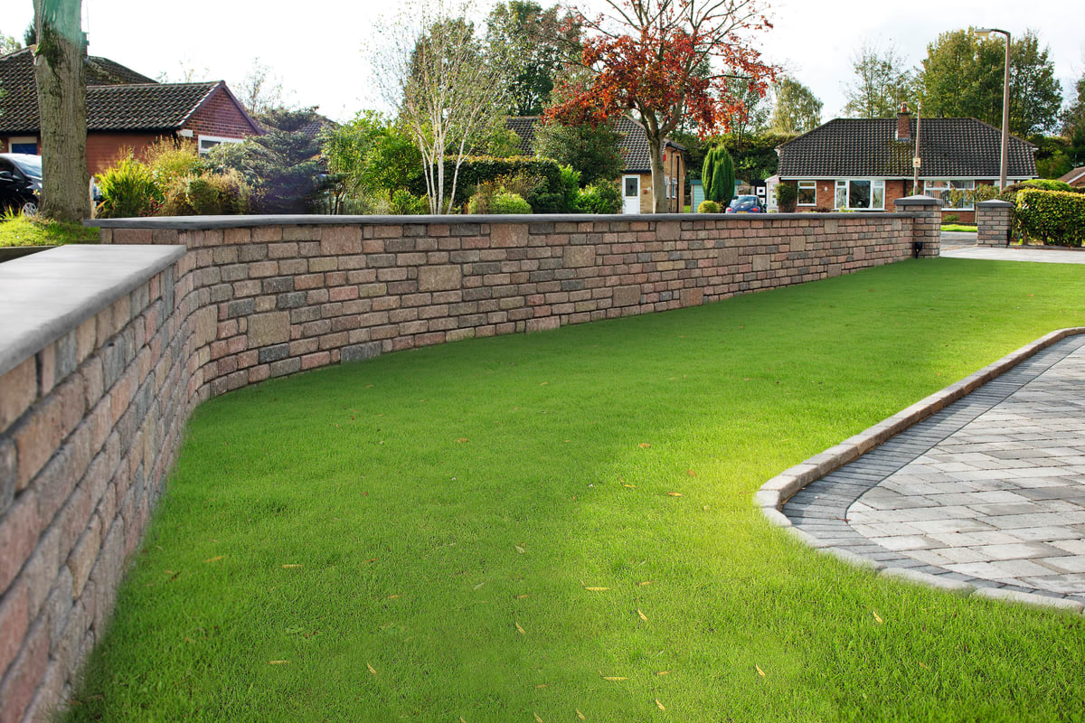 Tegula Walling - Traditional thumbnail image