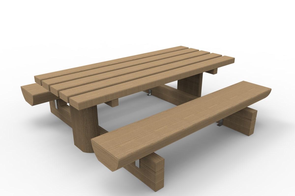 aubade picnic table