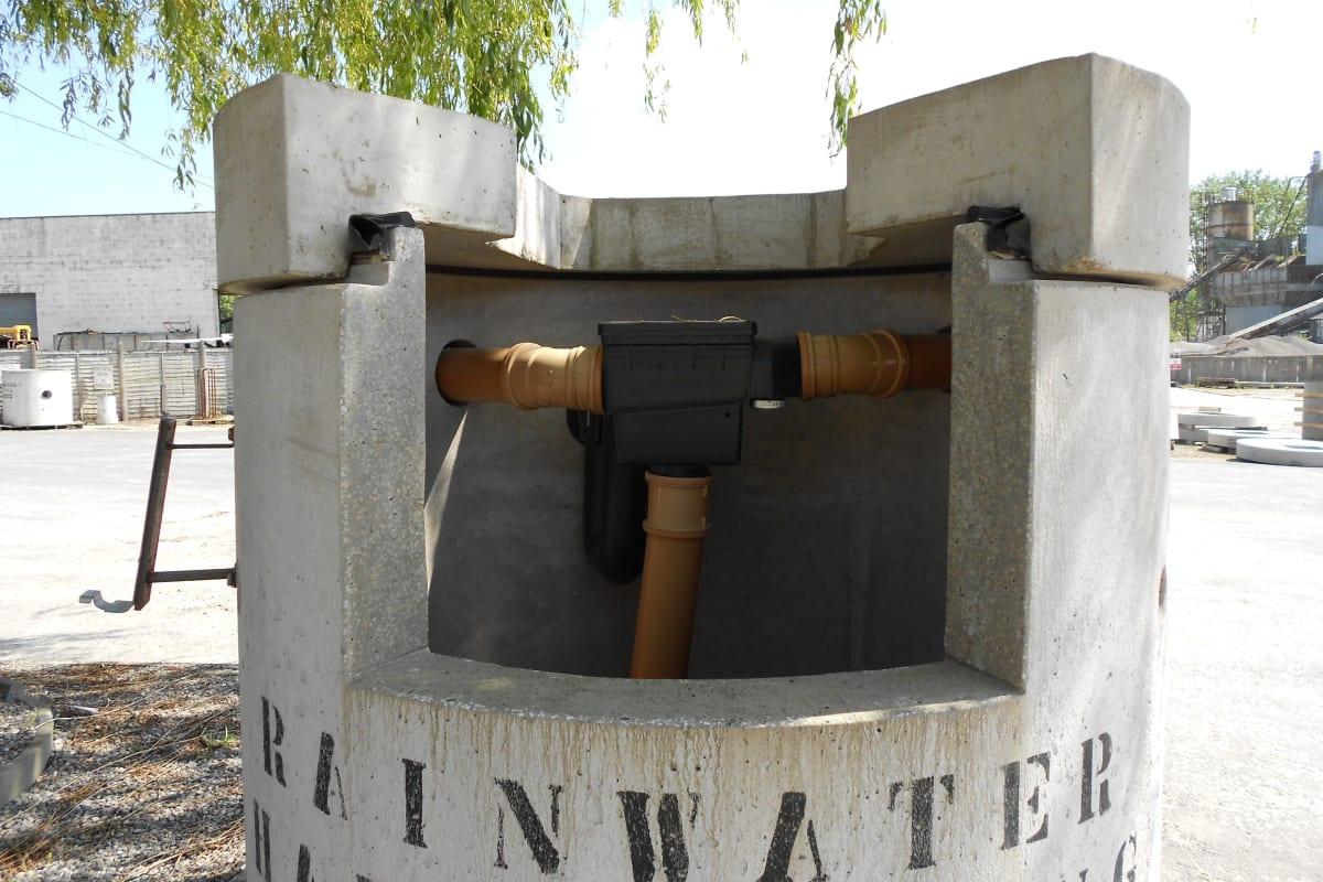 basic rainwater harvesting chamber