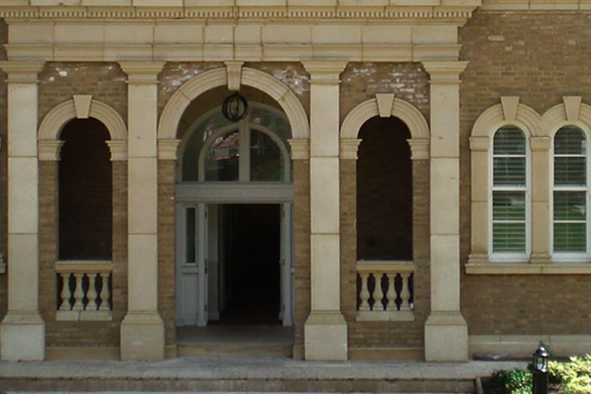 cast stone door surrounds