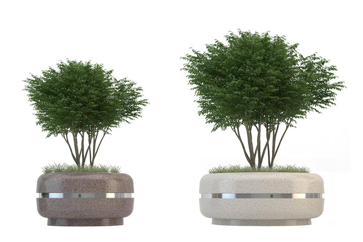 classica precious stone planter