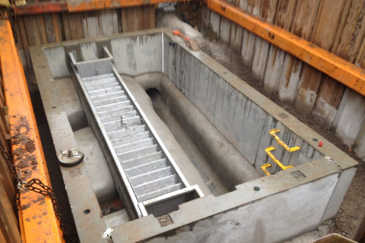 combined sewer overflow wessex installation