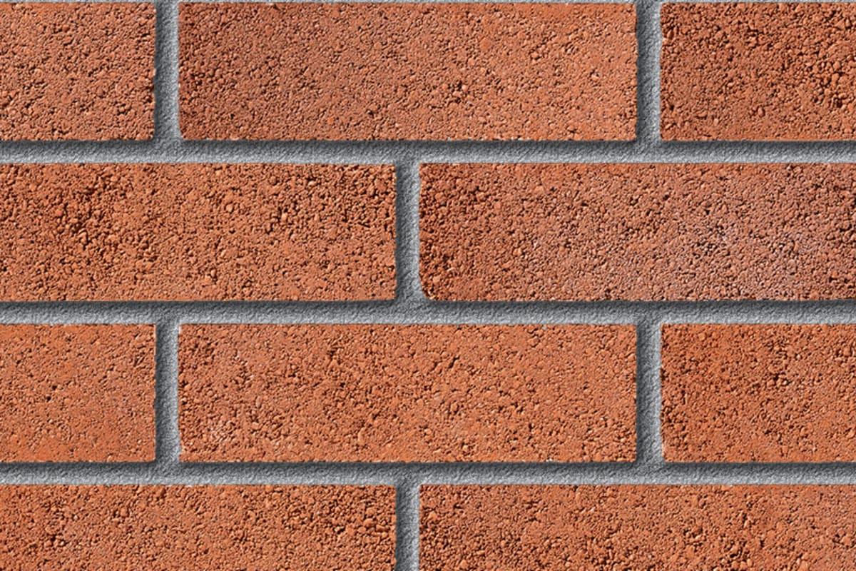 fairway dewstow wren perforated facing brick swatch panel