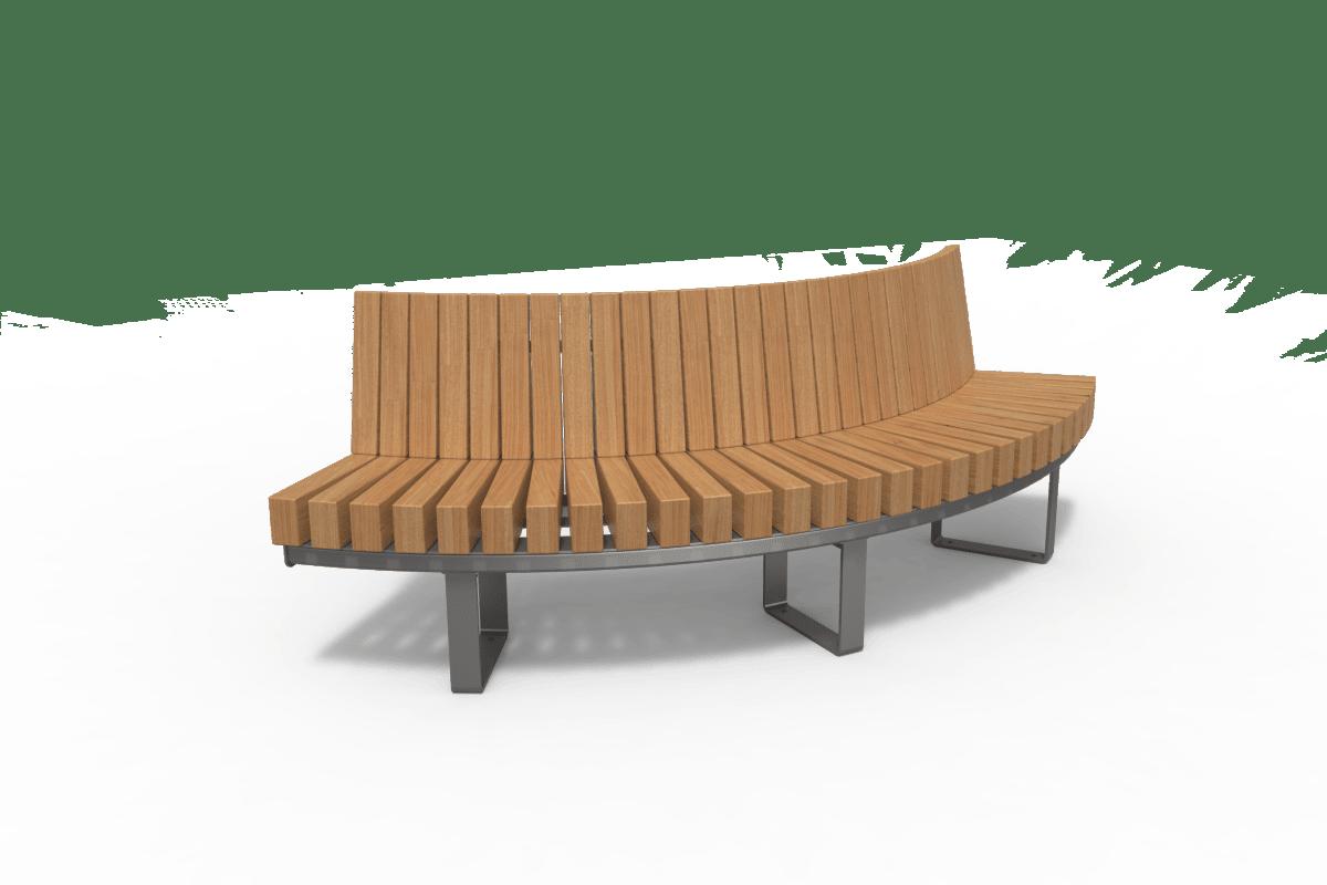 distrikt inside curve seat aluminium grey ral9007