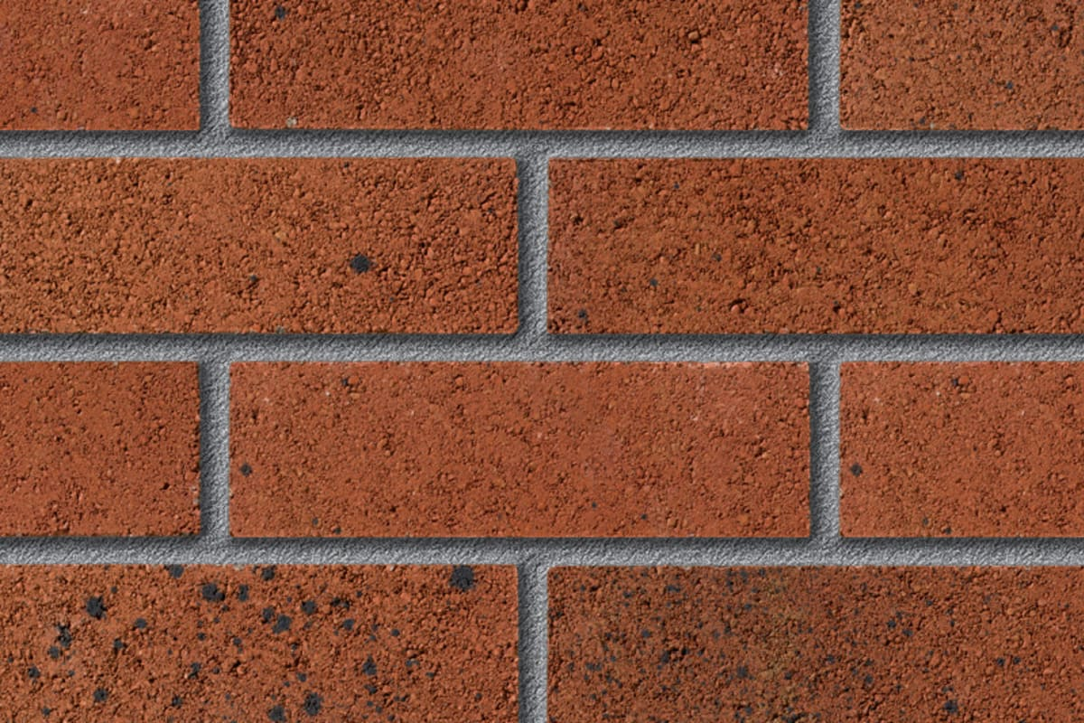 fairway dymock bronze perforated facing brick swatch panel