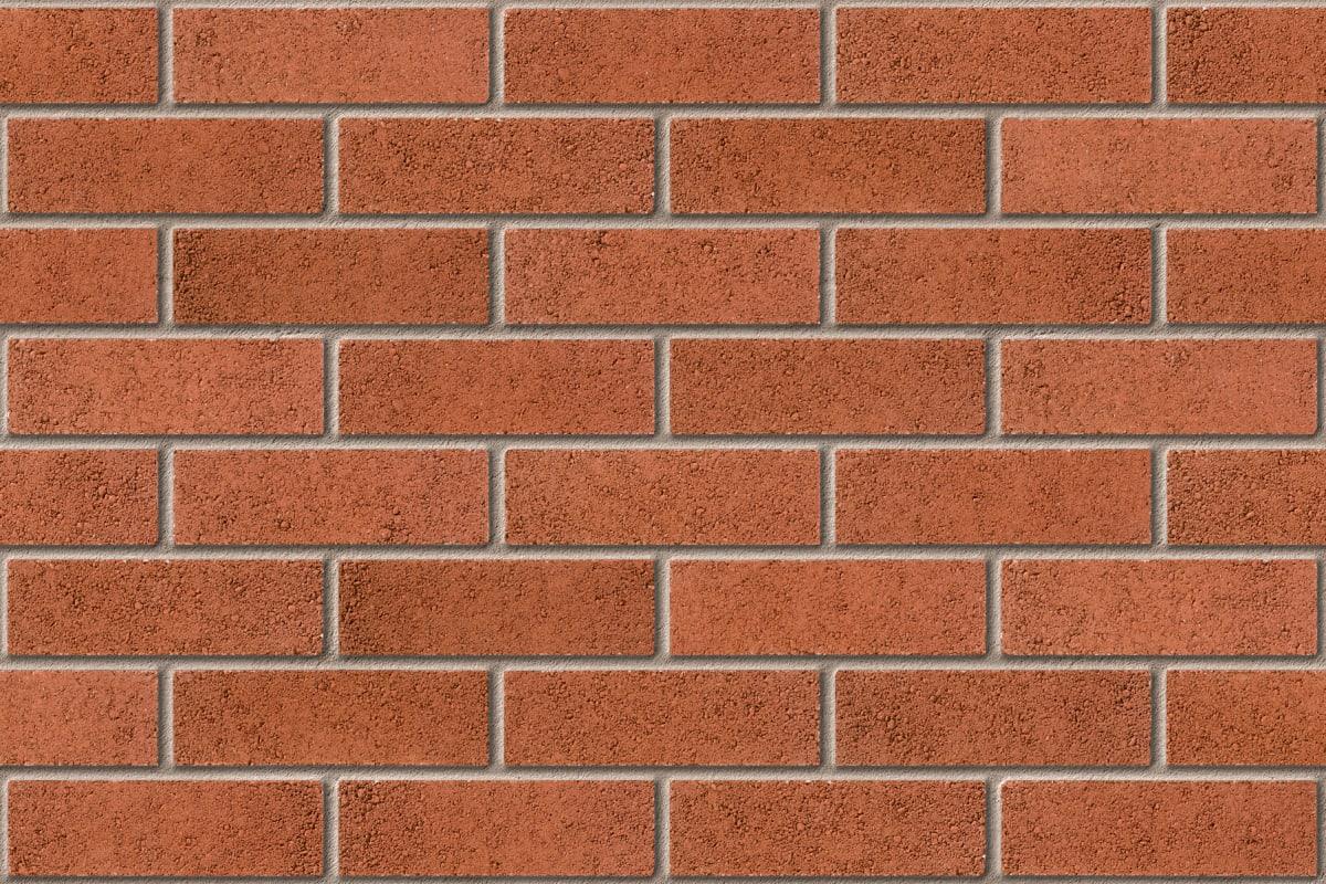 peakdale epsom red facing brick