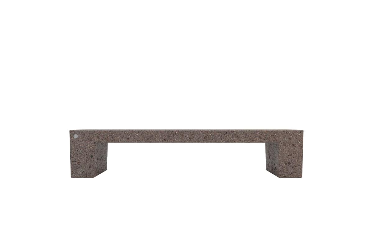 eraclea bench in precious stone