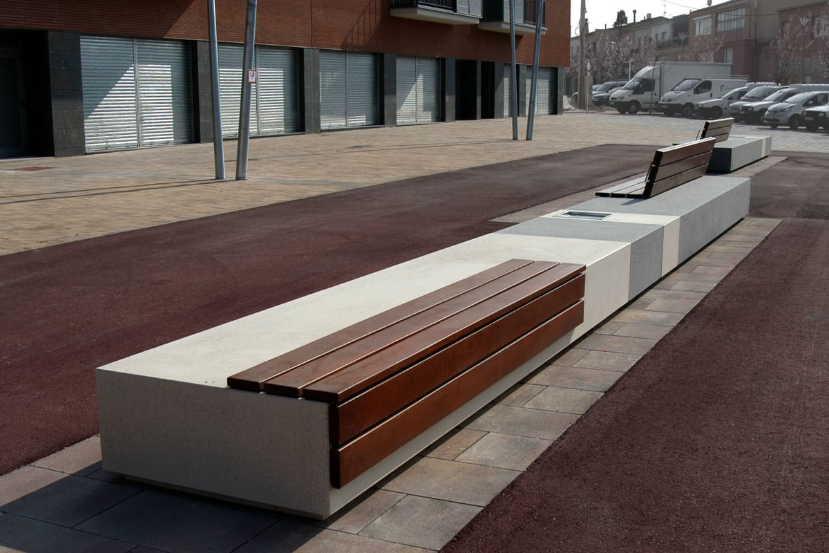 escofet longo bench