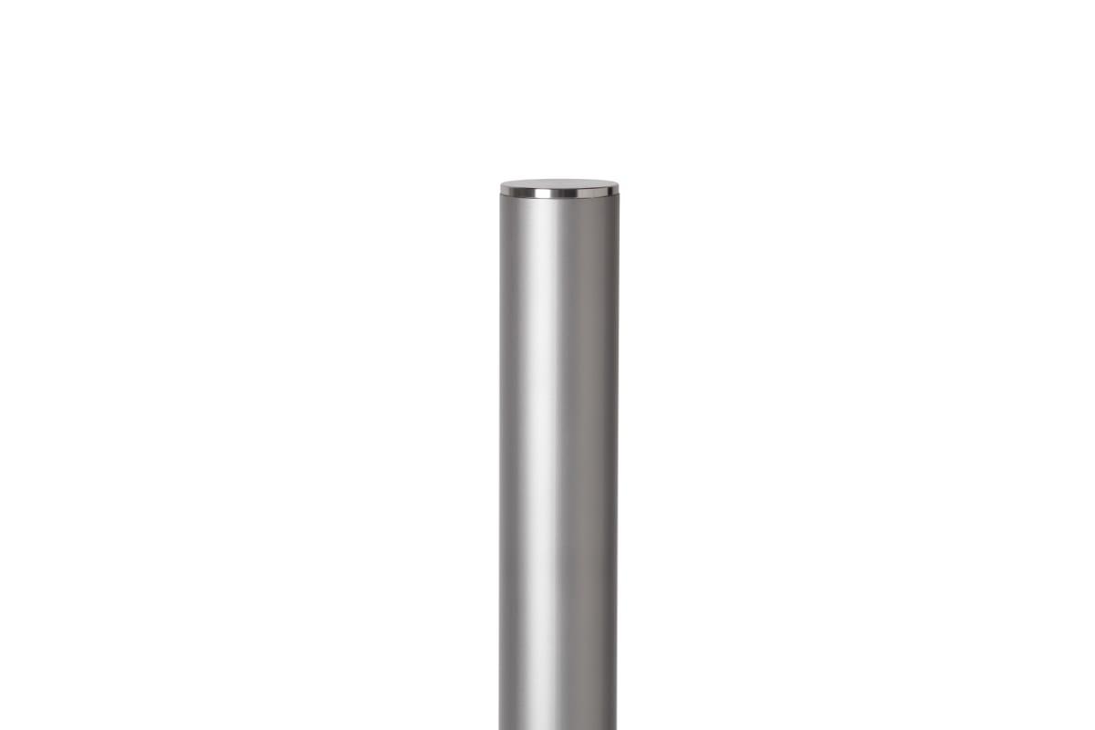 essentials 304 stainless steel bollard - bead blast finish