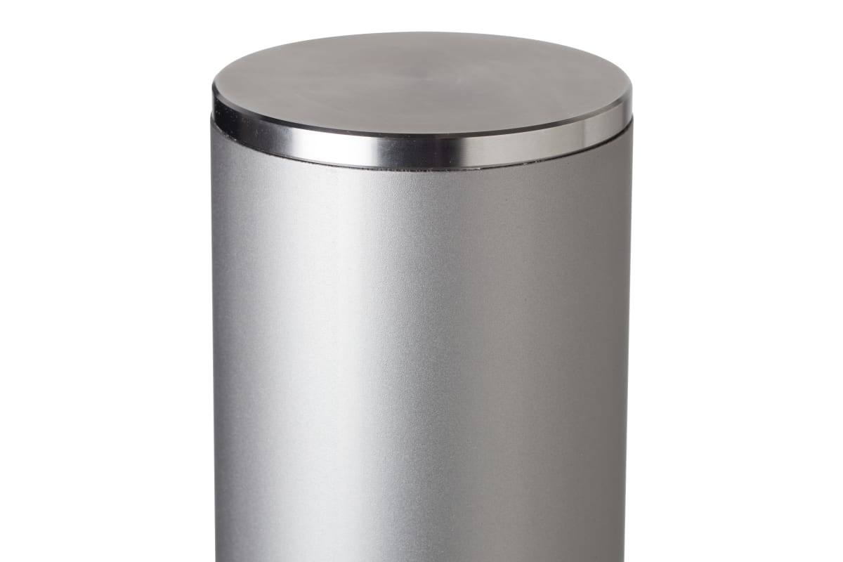 essentials 304 stainless steel bollard bead blast finish