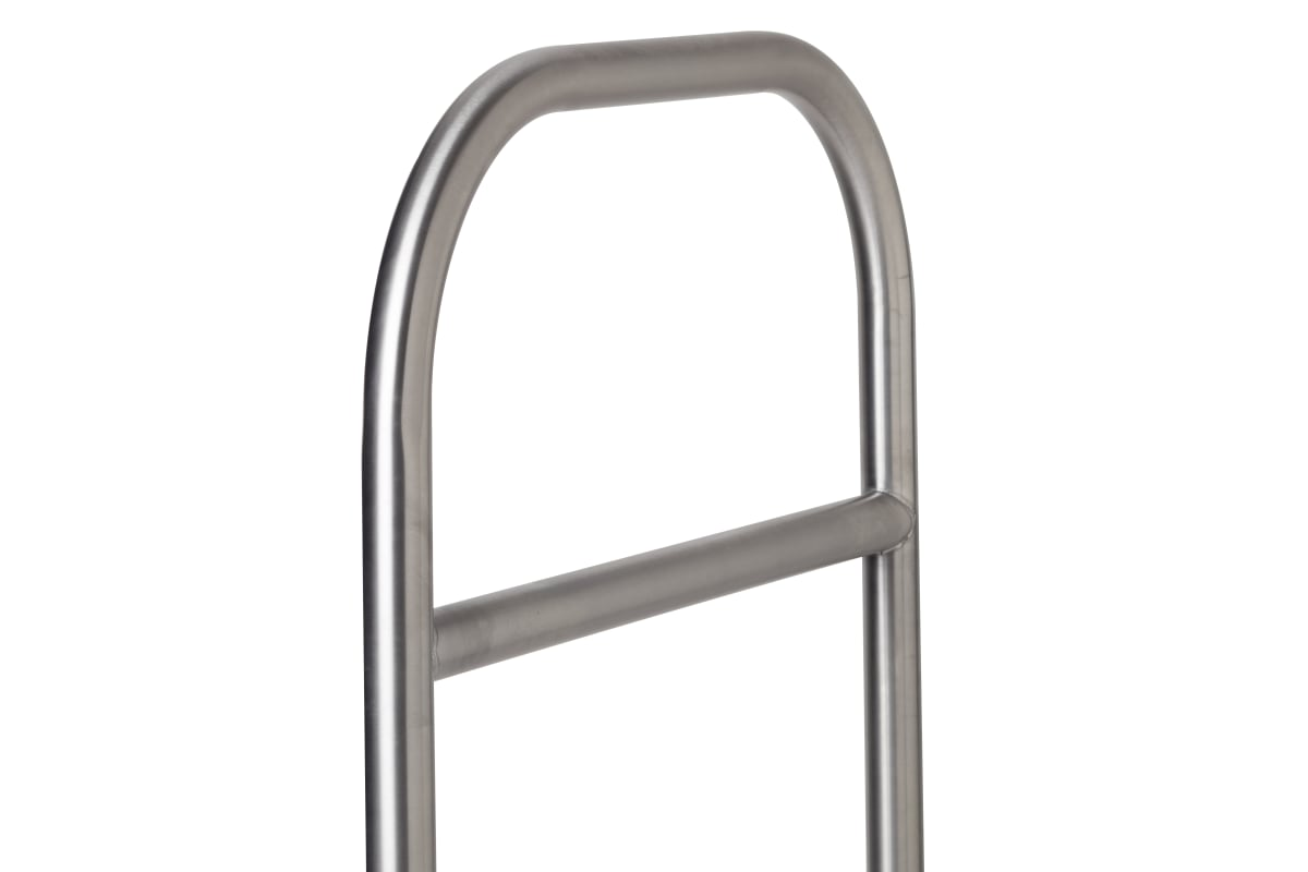 essentials 304 stainless steel cycle stand with tapping bar