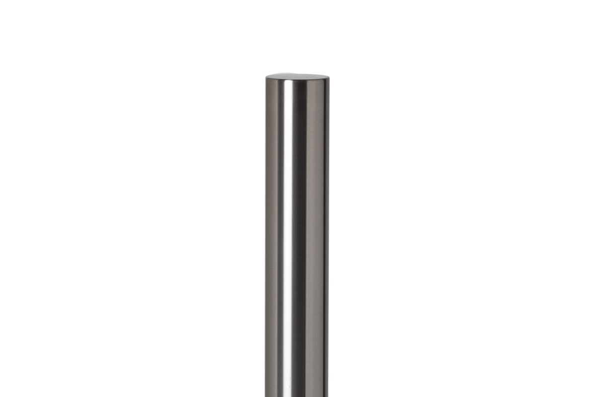 essentials 304 stainless steel flat top bollard.