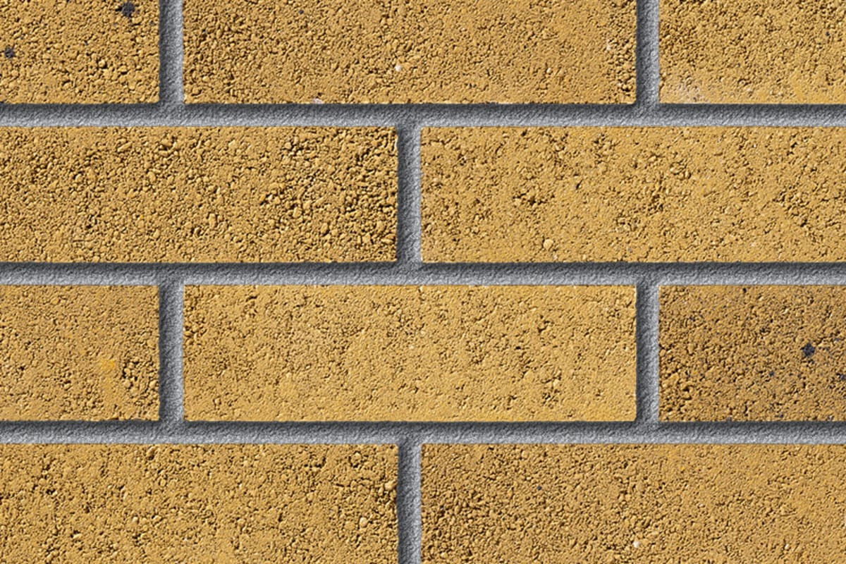 fairway fairwood straw perforated facing brick swatch panel