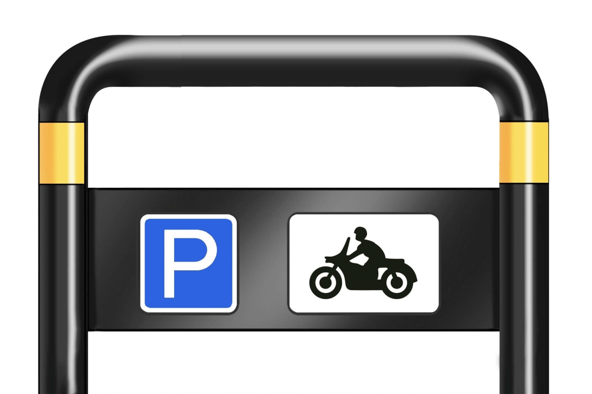 ferrocast islington polyurethane motorcycle stand