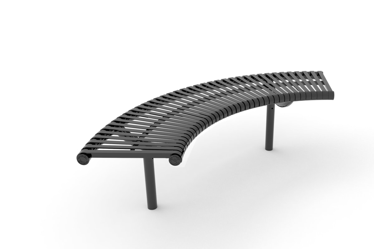 festival curved bench