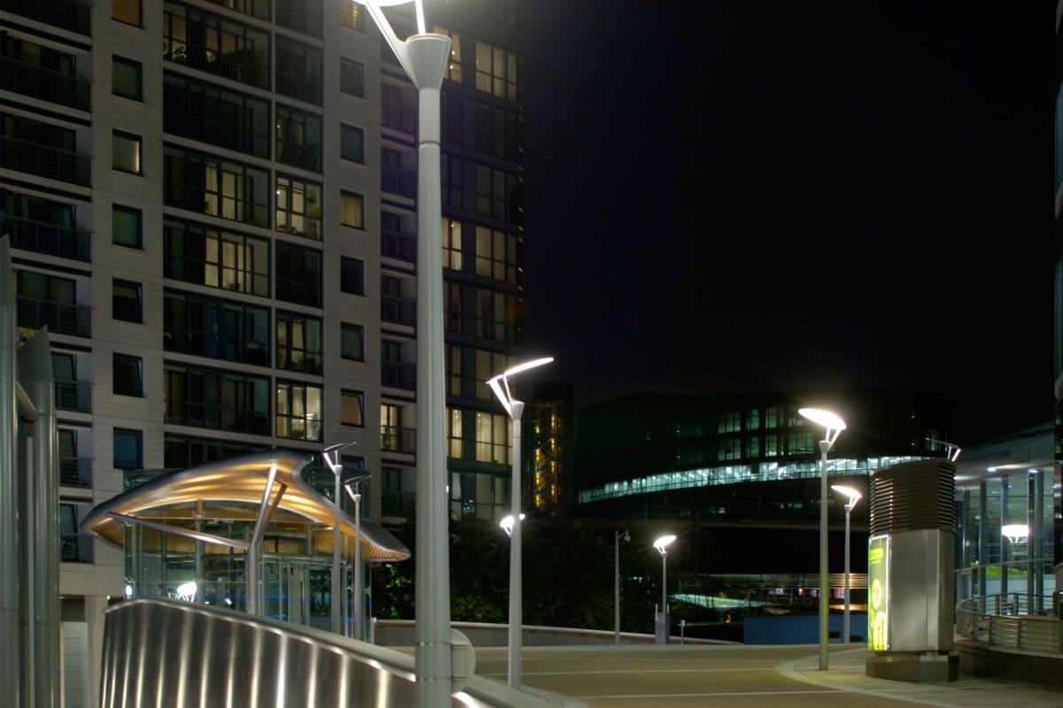 geo assymetric parklight