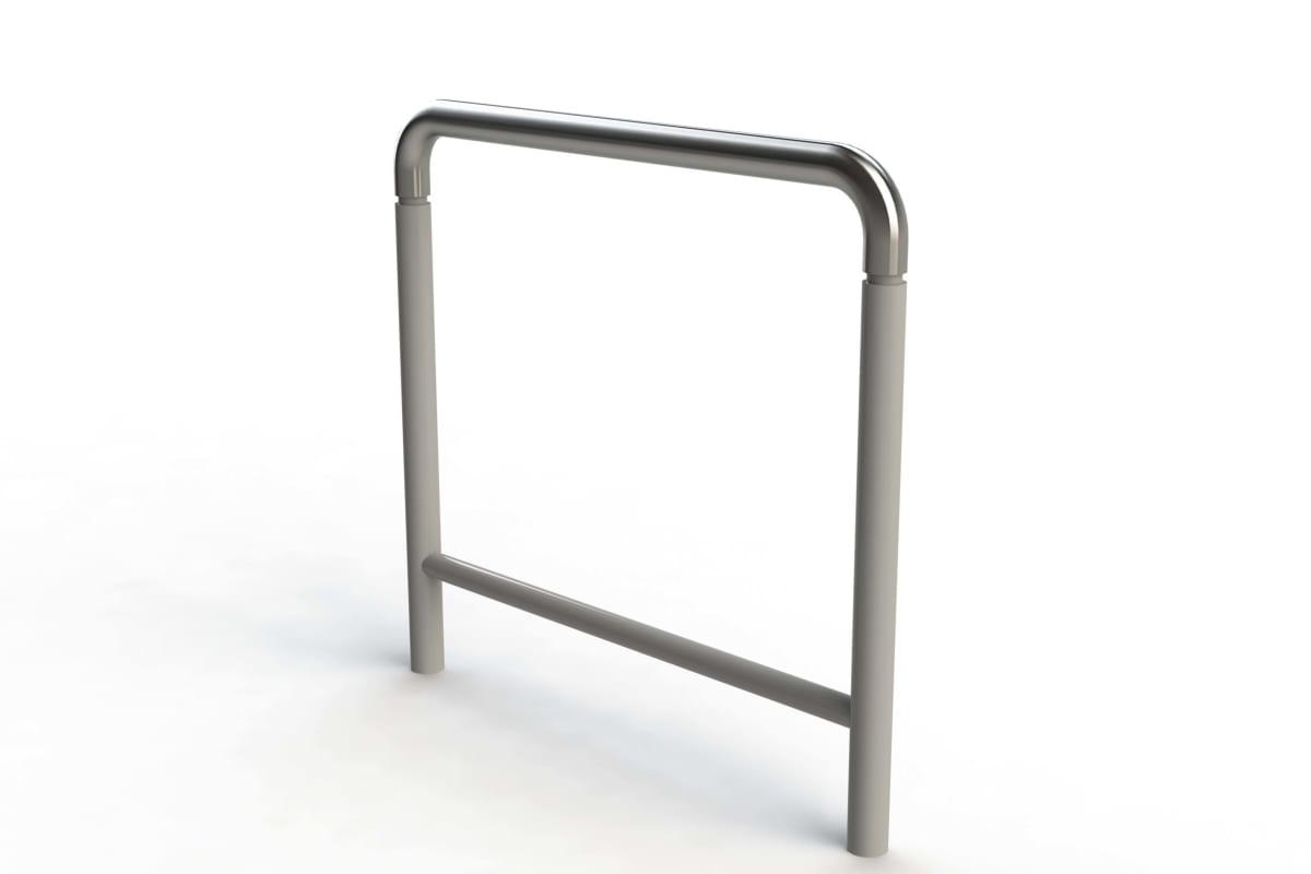 geo hoop cycle stand