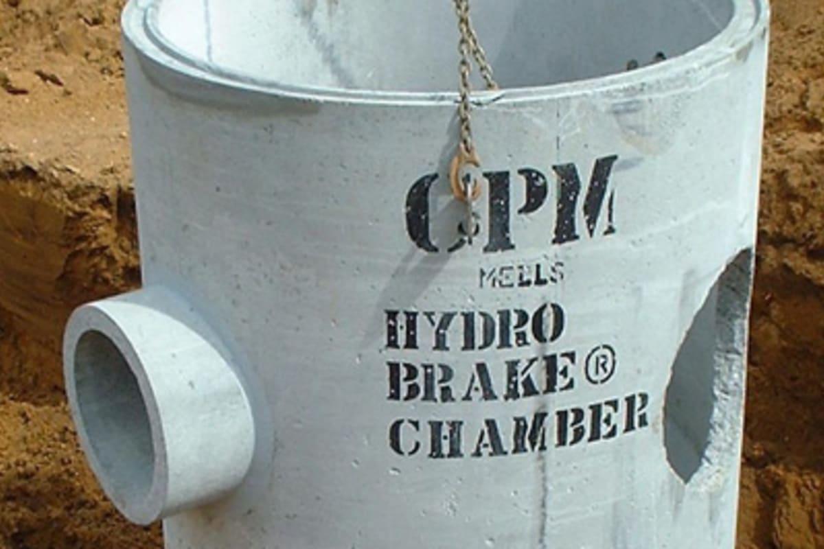 hydrobrake chambers