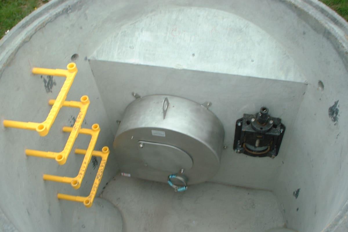 hydrobrake penstock