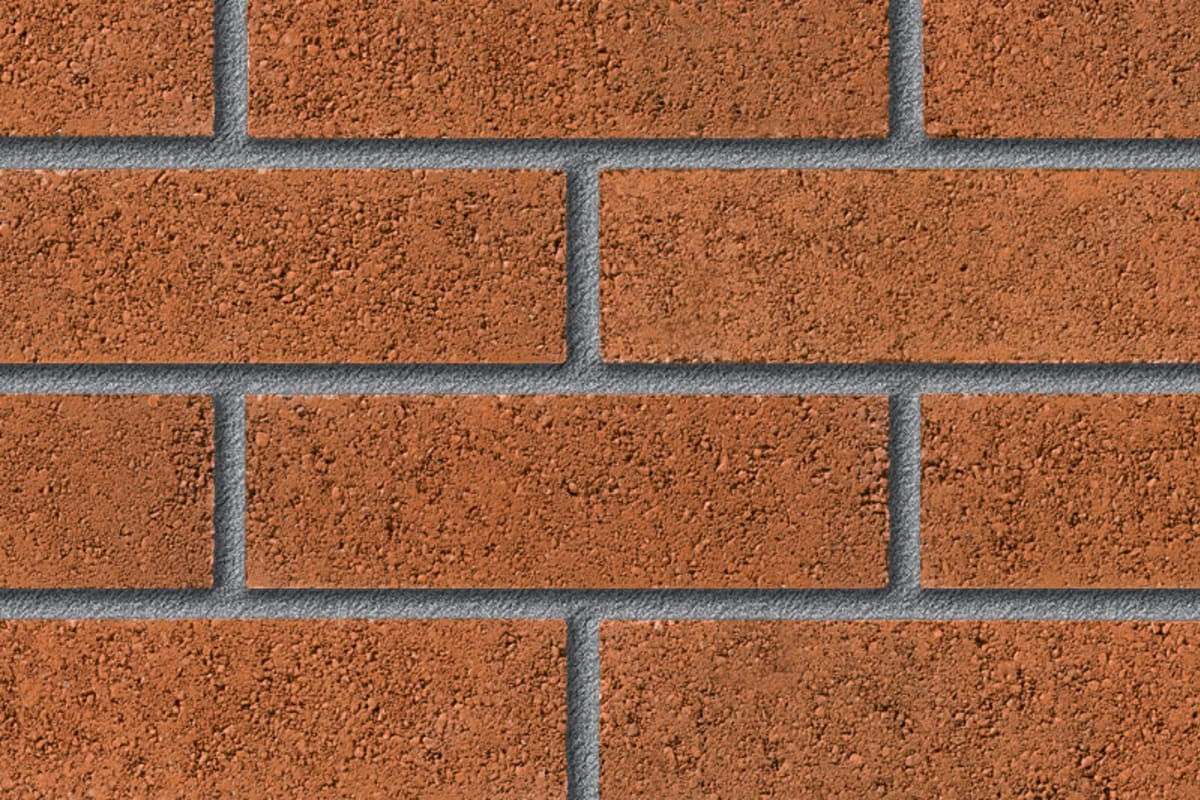 fairway kendleshire haze perforated facing brick swatch panel