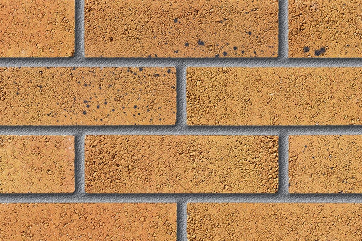 fairway lansdown corn perforated facing brick swatch panel