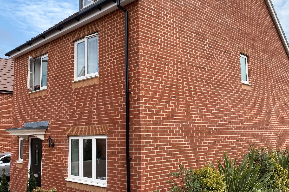 linden homes facing brick allen multi