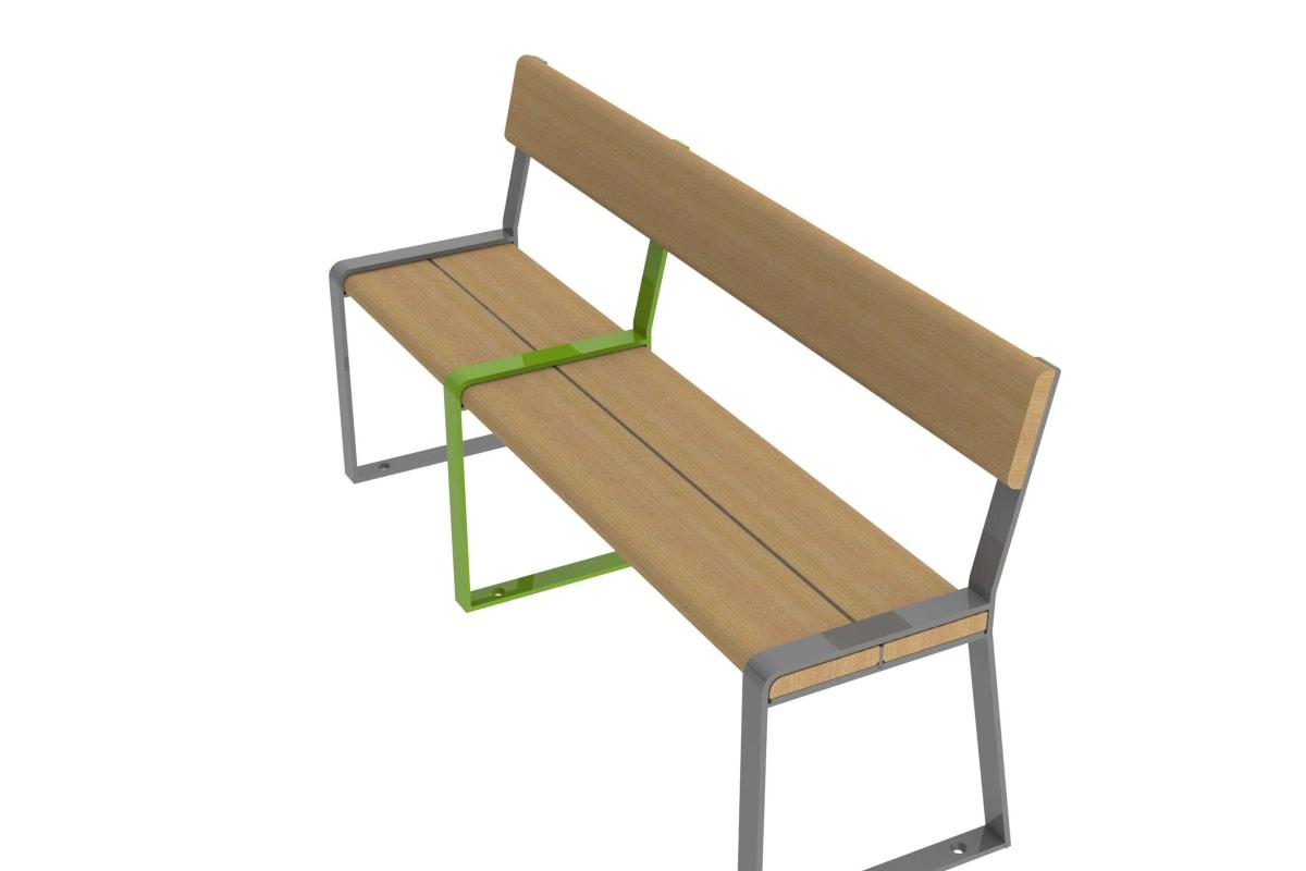 loci three place seat