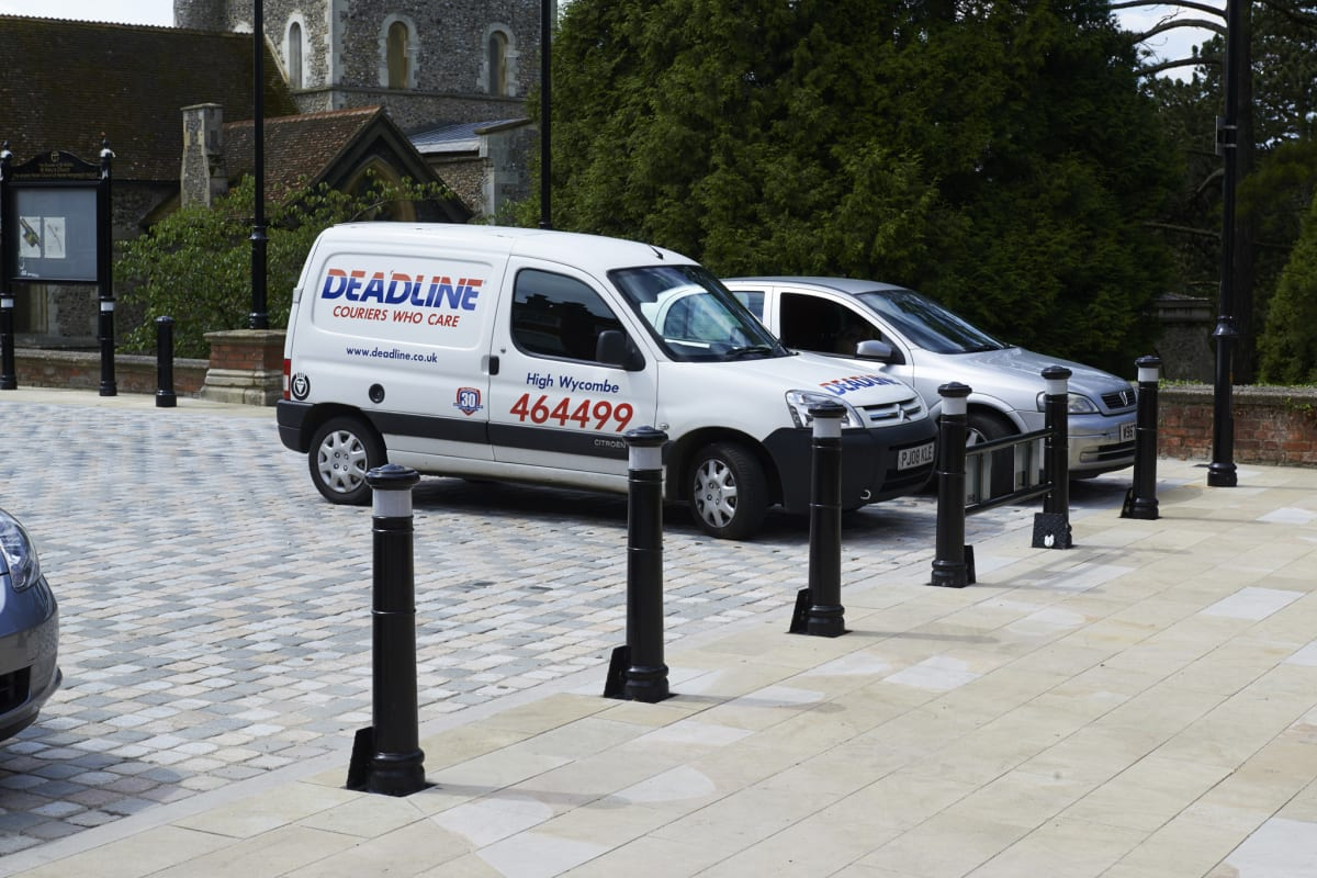marshalls manchester ferrocast removable bollards