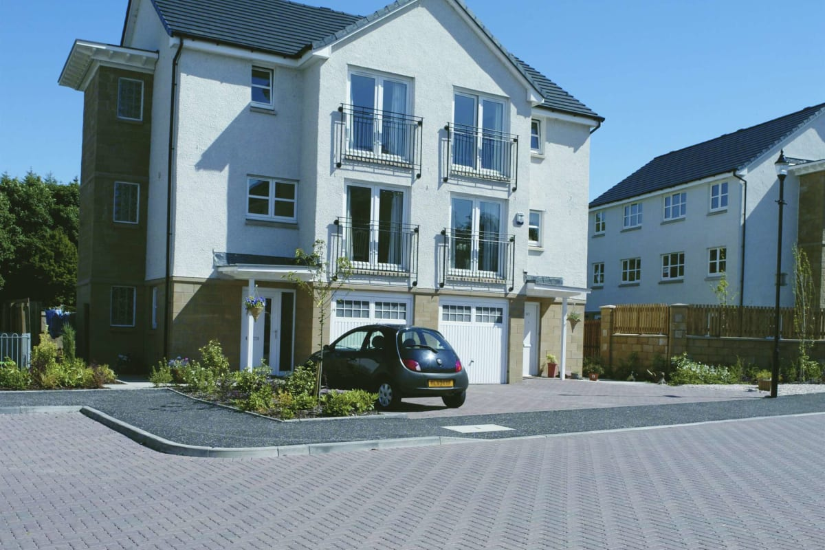 natural priora block paving - east kilbride