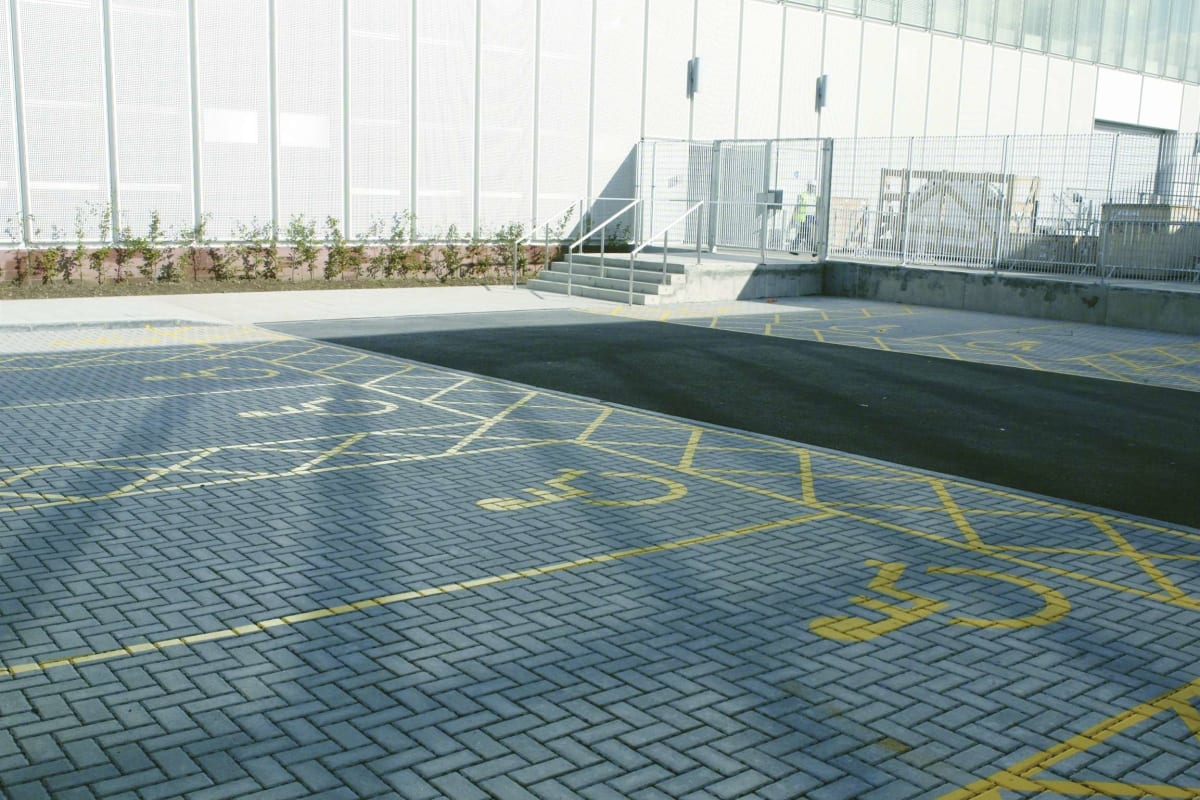 natural priora block paving - glasgow