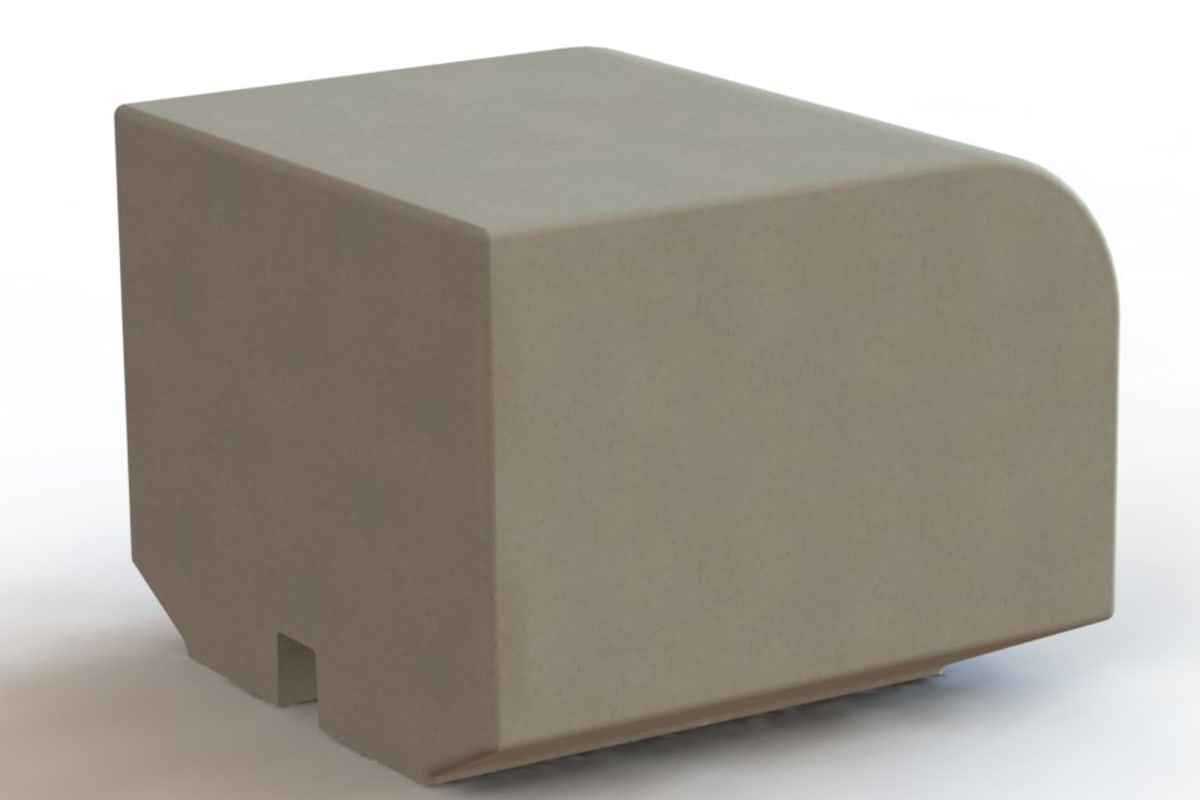 metrolinia radius end block
