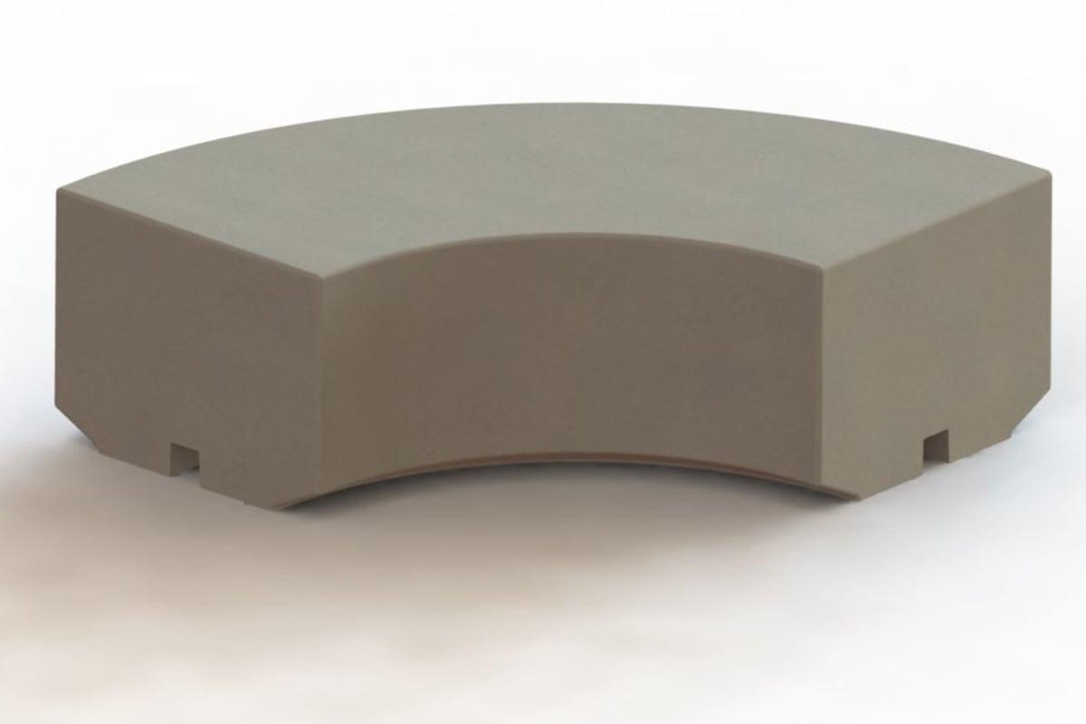 metrolinia radiused corner block