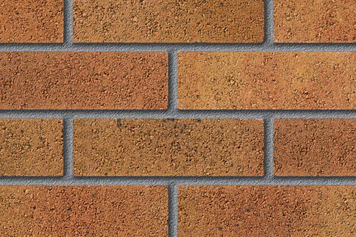 fairway long naunton dawn perforated facing brick swatch panel
