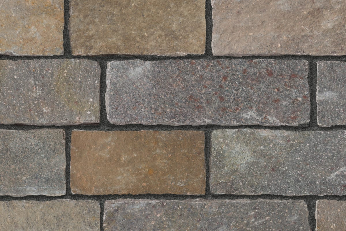 porphyry grey brown mix setts