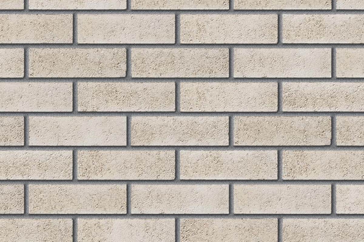 contemporary range quartz white facing brick