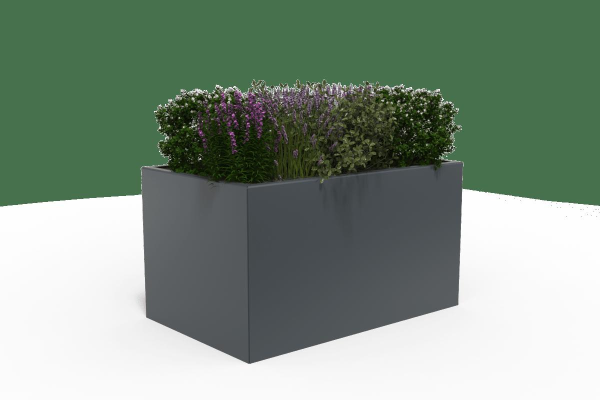 rhinoguard rhinoblok planter steel