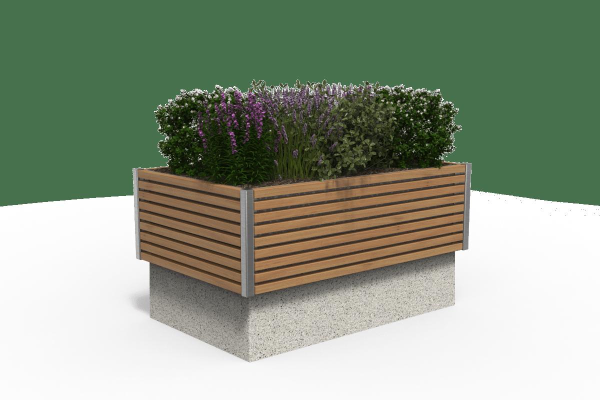 rhinooguard rhinoblok timber planter