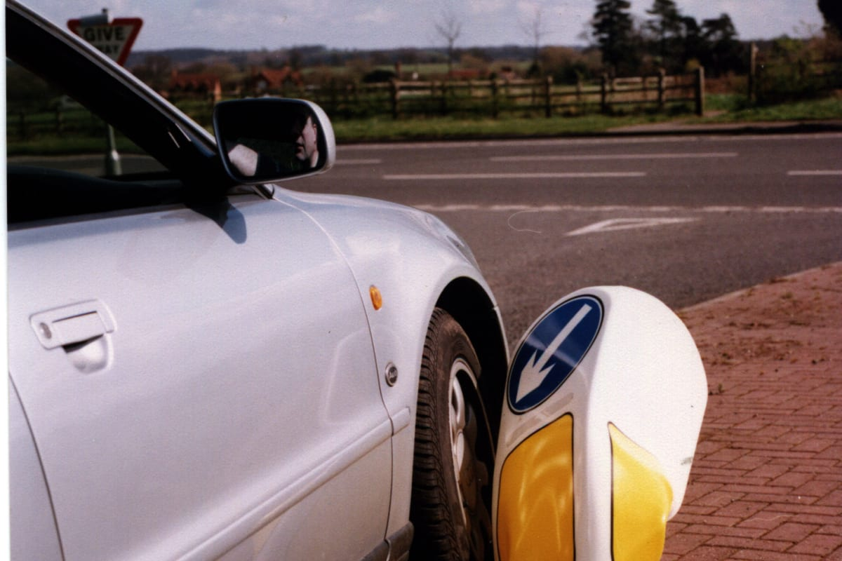 simbol traffic bollard