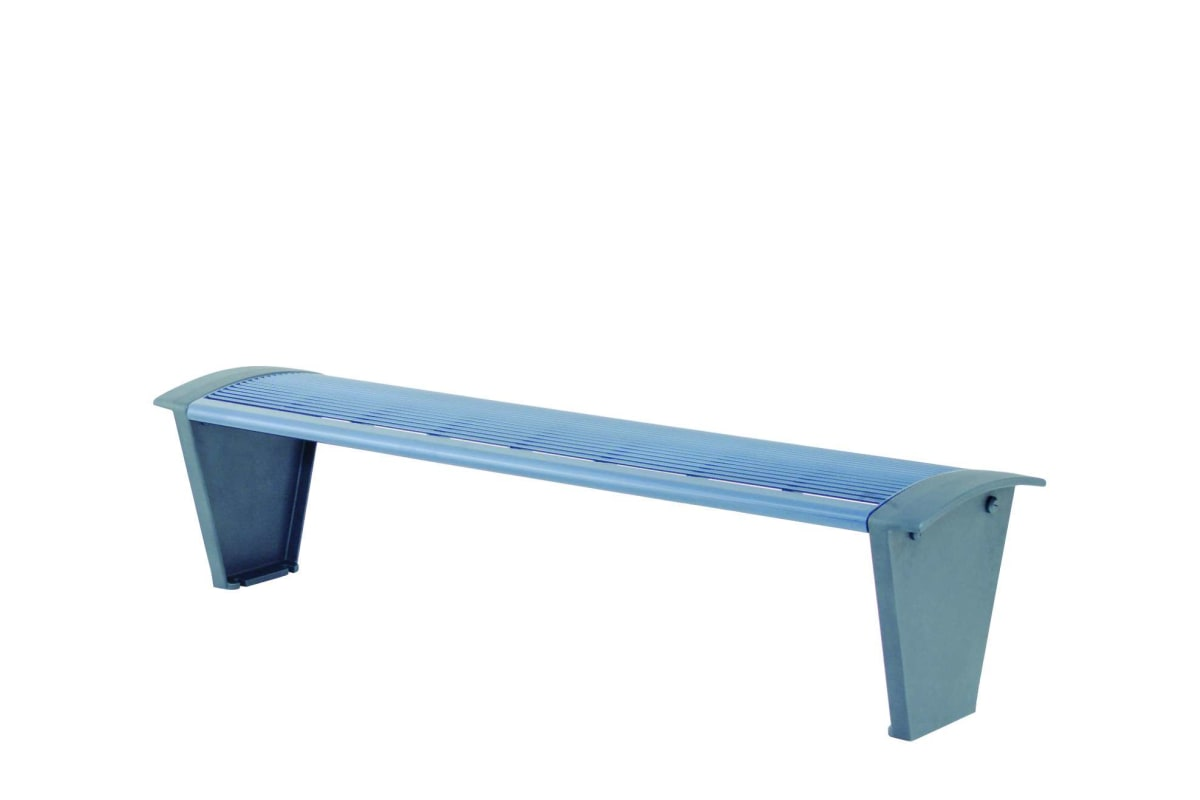 sineu graff rendezvous city bench in stainless steel