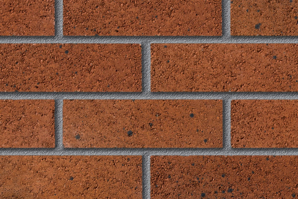 fairway southern down amber perforated facing brick swatch panel