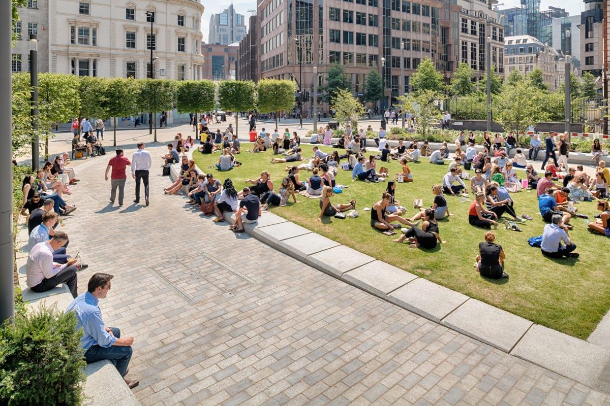 tarvos granite - aldgate square