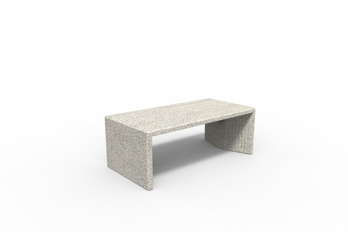tenplo hollow bench - silver grey