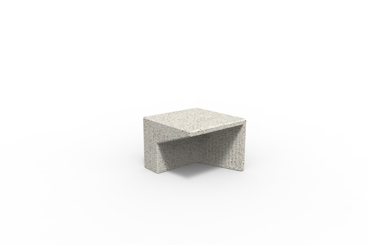 tenplo hollow blok rh - silver grey