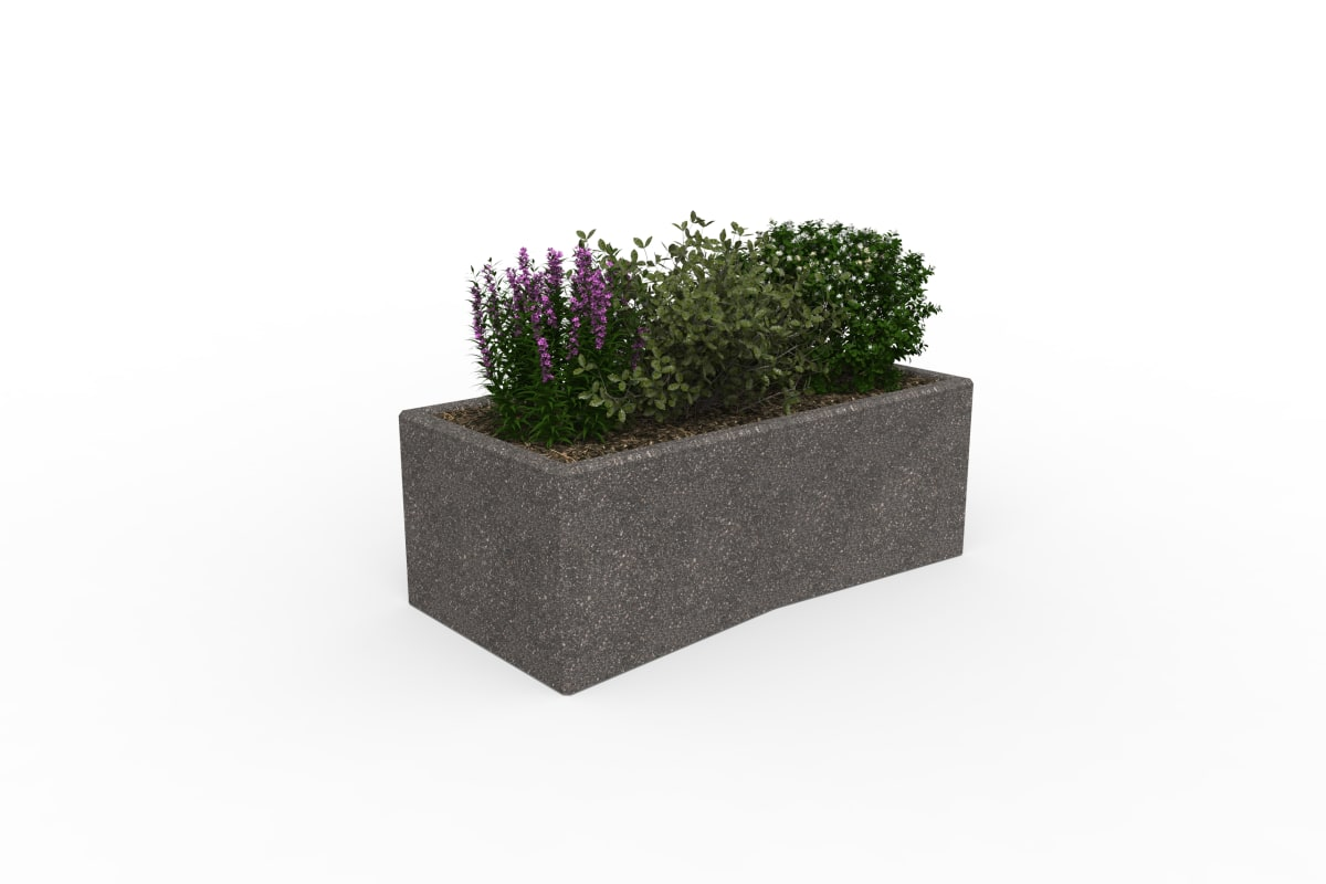 tenplo planter blok - anthracite