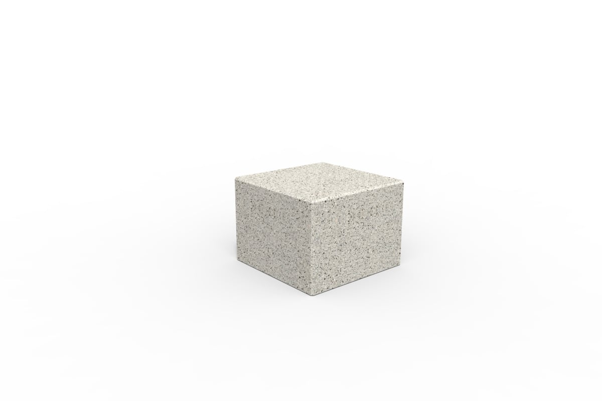 tenplo square blok - silver grey