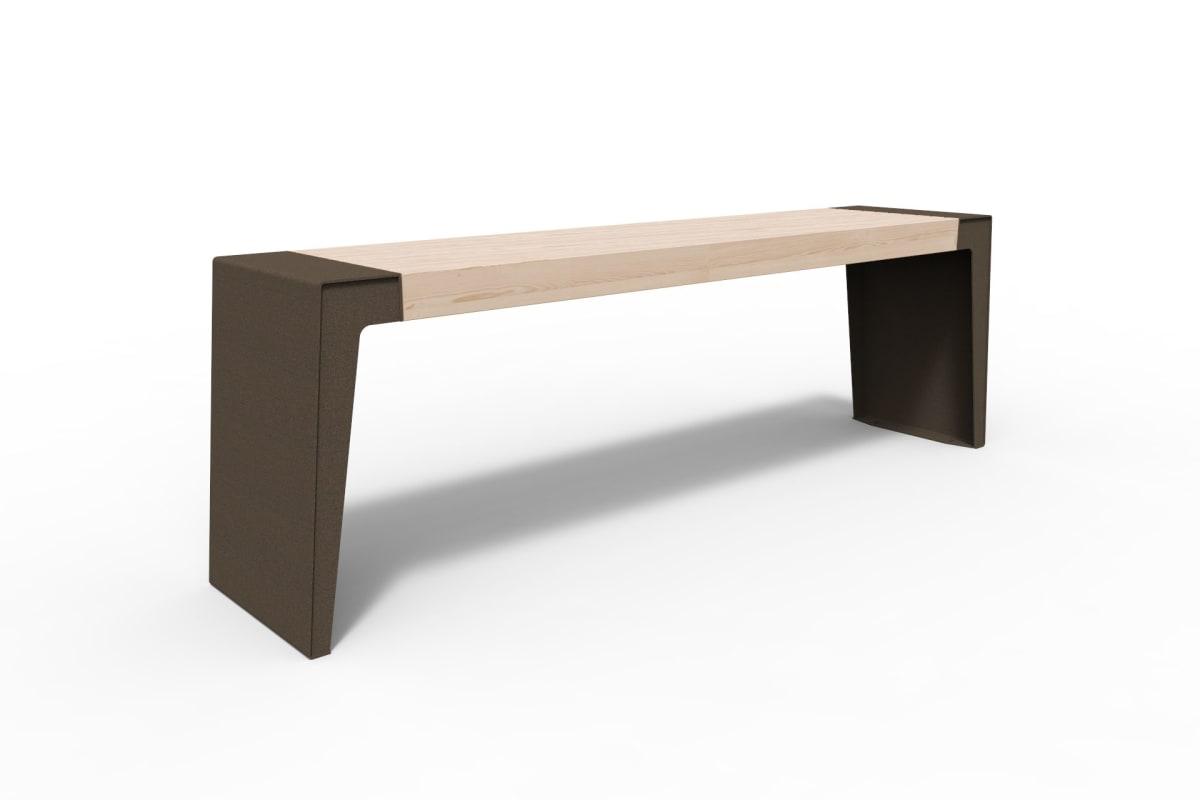 urbain table in bronze