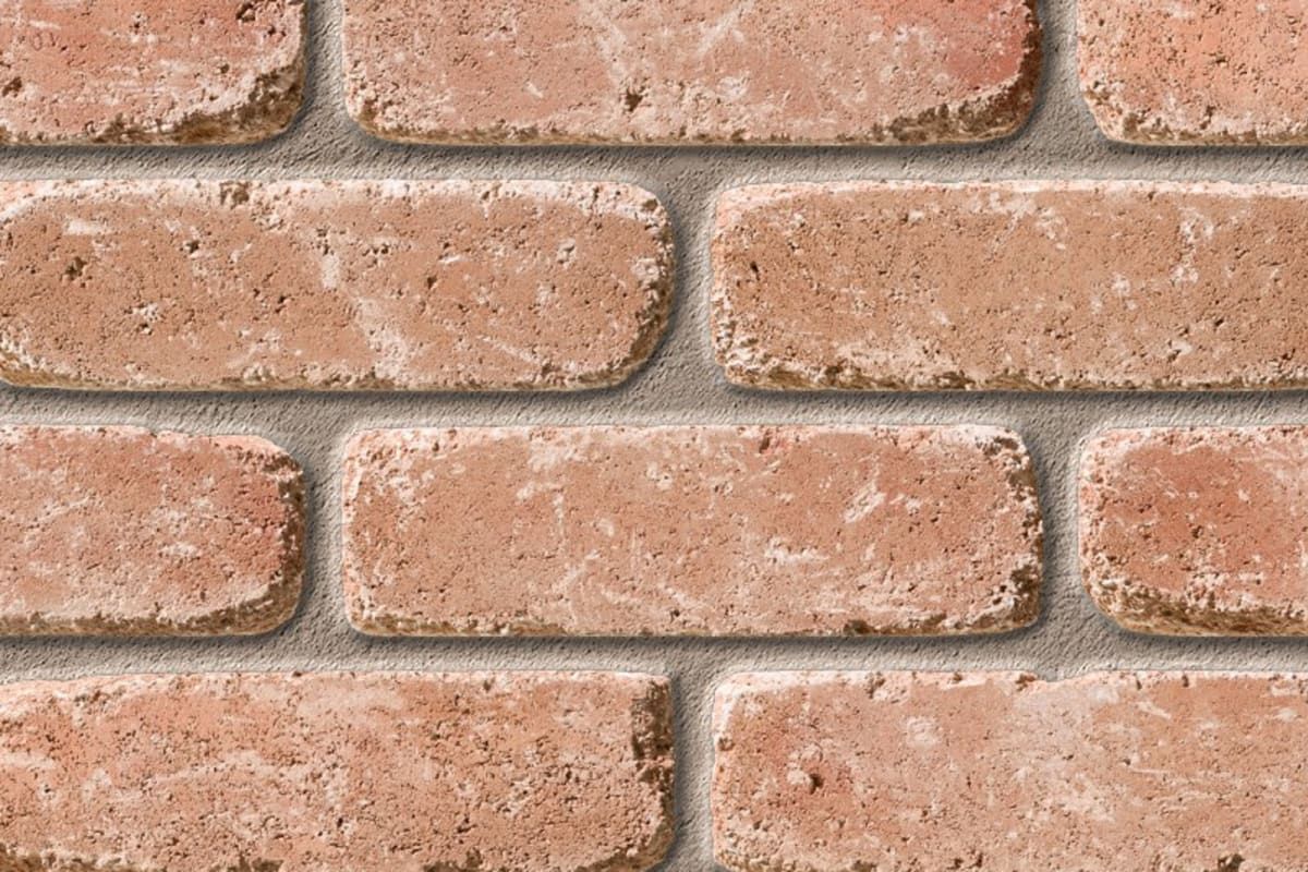 sandstock frogged waddon vintage stock facing brick swatch panel